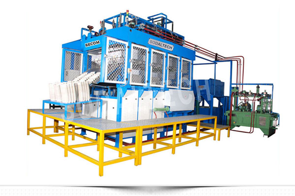 eco friendly biodegaradble automatic disposable sugarcane bagasse pulp tableware (plate) thermoforming machine
