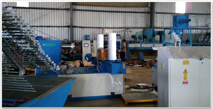 paper tube production line